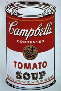 Warhol, Campbell's Soup Can 1964