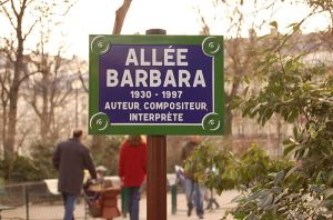 Allee Barbara a street in France