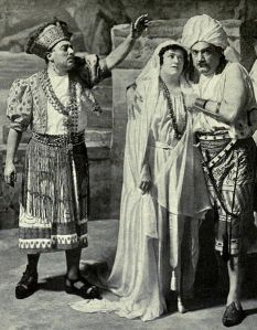 Caruso as Zurga in The Pearl Fishers 1916