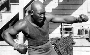 Jack Johnson champion boxer