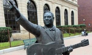 Lead Belly statue Shreveport