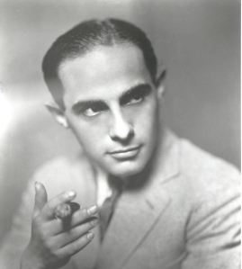 Lorenz Hart with a cigar