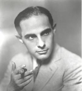 Lorenz Hart with a cigar