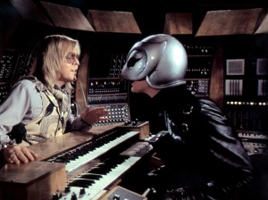 Paul Williams as Swan confronts The Phantom