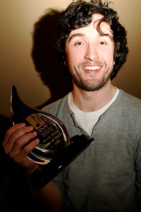 jape's Richie with the Choice Music Award