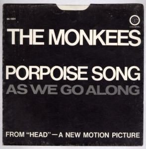 Monkees 45 Porpoise Song